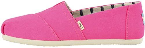 TOMS Alpargata Neon Pink 6