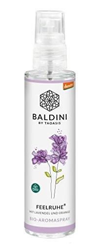 Baldini - Feelruhe BIO-Raumspray aus 100{e69be007a7e989b84a426b7584b945e2ee8073c25363bd83f0b22ec718584a74} naturreinen Rohstoffen, demeter, 50 ml