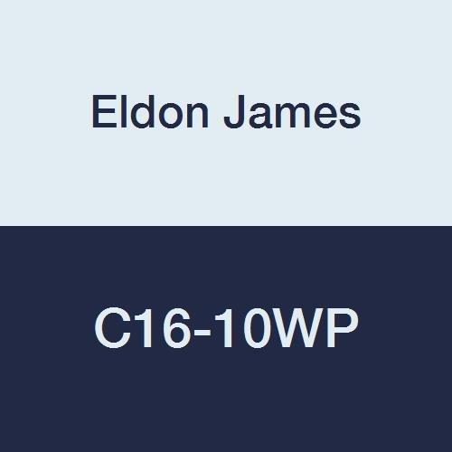 Max 85% OFF Eldon James C16-10WP Industrial Reduction Polypropylene Denver Mall White Co