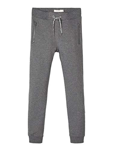 NAME IT Boy Sweathose Einfarbige 134Dark Grey Melange