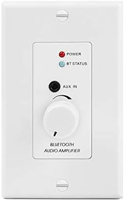 TNP in Wall Bluetooth Audio Receiver Wall Plate BT 4 2 Wireless Adapter 30W Stereo Amplifier product image