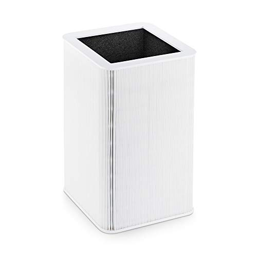 Blueair Replacement Filter Particle and Carbon Fits Blue Pure 121 Air Purifier, White