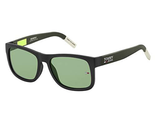 Tommy Hilfiger tj 0001/s, gafas de sol Unisex Adulto, opaco neo verde, 52