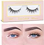 Icona Lashes Premium Quality False Eyelashes | Head Over Heels | Wispy and Flared | Natural Look and Feel | Reusable | 100% Handmade & Cruelty-Free