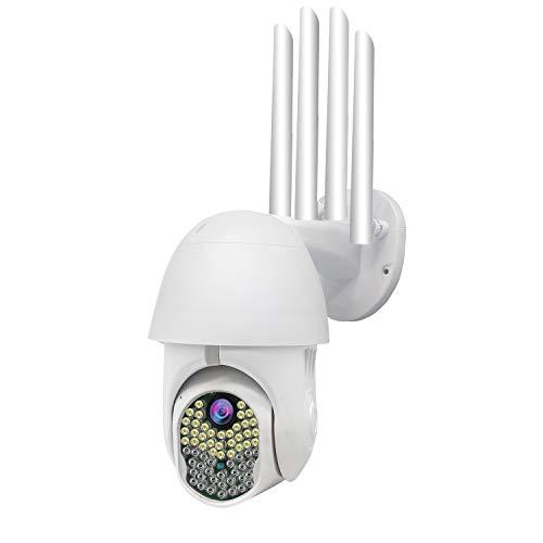 CAIXIAN 1080P HD WiFi Cámara de Bala de vigilancia de Seguridad para el hogar Impermeable al Aire Libre, cámara IP, visión Nocturna por Infrarrojos con detección de Movimiento