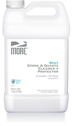 MORE Stone & Quartz All Purpose Cleaner + Protector Refill (Advanced Formula) for Natural Stone and Tile Surfaces - Lavender Verbena
