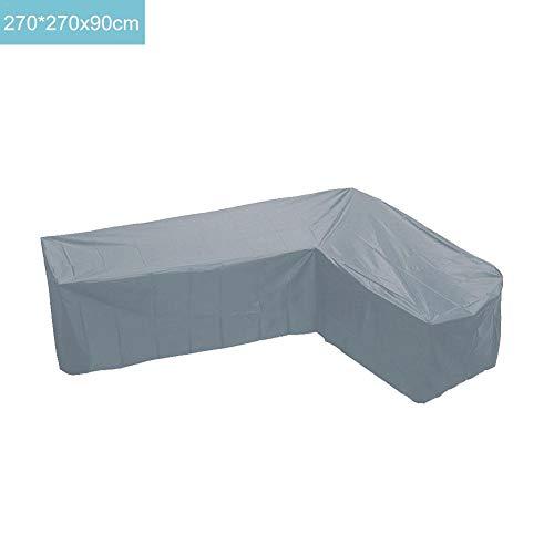 Bestlle - Juego de Fundas de sofá esquineras para Muebles de jardín, en Forma de V, Impermeables al Aire Libre, protección imaginativa para Todo Tipo de Clima