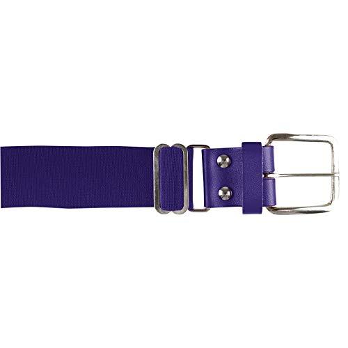 CHAMPRO Brute Baseball Belt; Youth; Purple