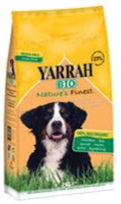 (Pack of 4) Yarrah Dog Food con  cken 2000 g