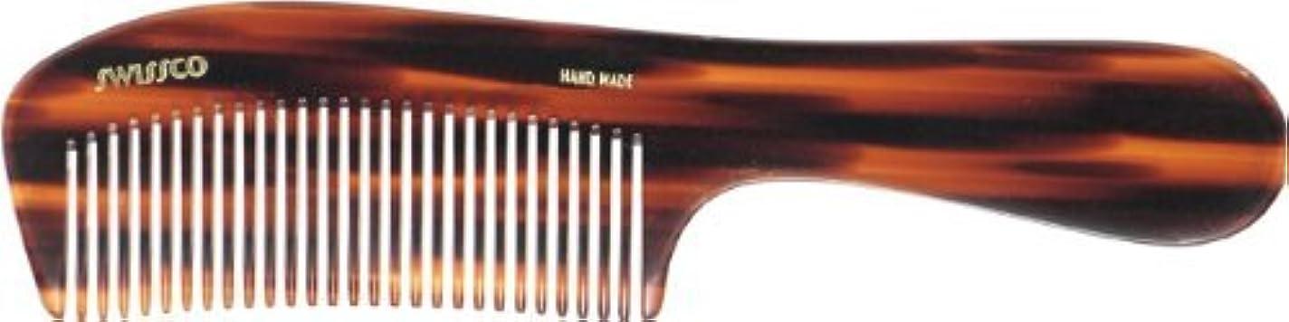 貫通するハイブリッド分布Swissco Tortoise Handle Comb [並行輸入品]