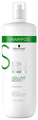 Glamorous Hub Schwarzkopf Professional BC Volume Boost Champú (1000 ml / 33,8 oz) (el embalaje puede variar)