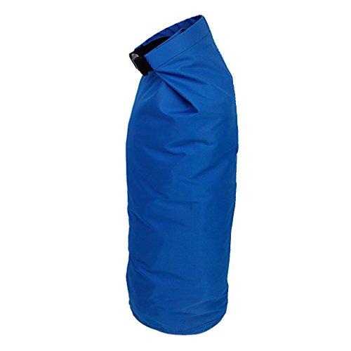 Sac Etanche Poche de Compression Léger pour Camping Kayak Rafting Canoë (Bleu Foncé, 8L)