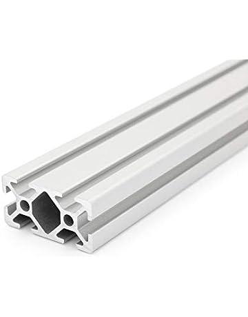 Profil/é aluminium/30x60 6 rainures 8 mm.