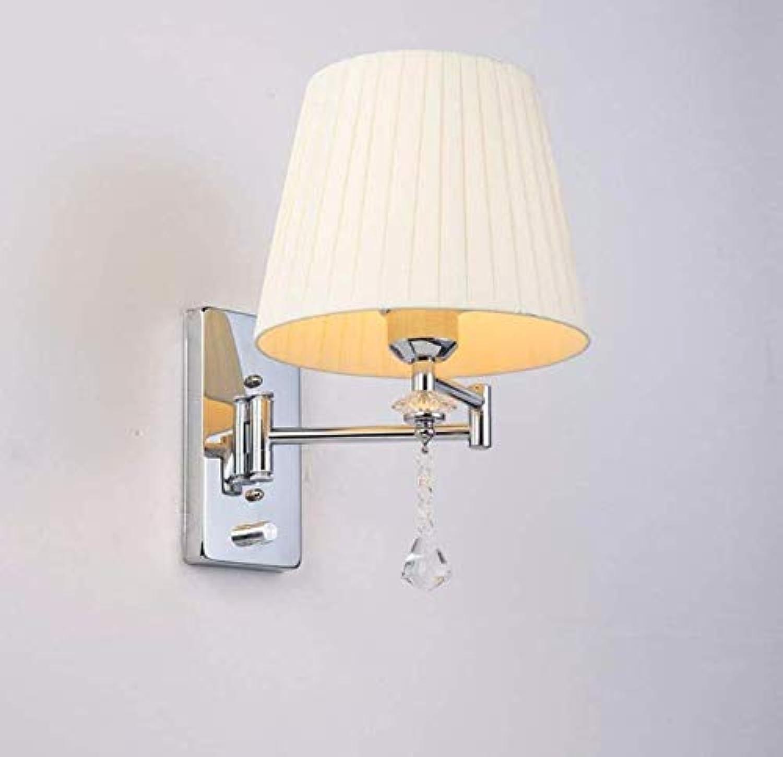Wandleuchte E27 Moderne Wandlampe Wandleuchten Nachtleselampe Kristall Wandleuchte Badezimmer Lichter