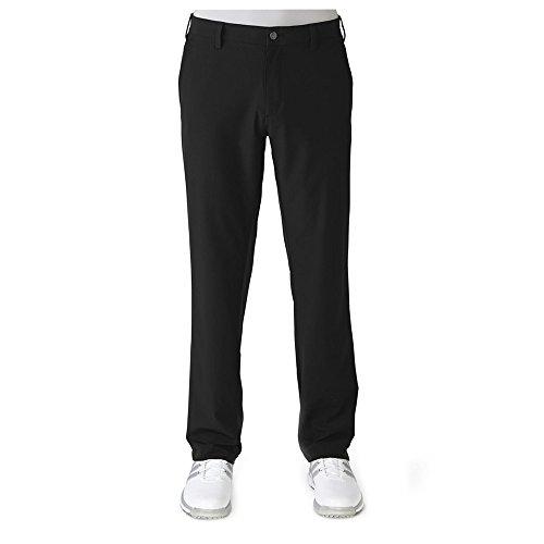 adidas Golf Men's Climacool Ultimate Airflow Pants, Black/Vista Grey S, 34 x 32
