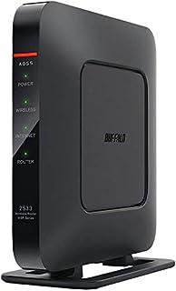 安くて良いバッファロー11ac互換1733+ 800Mbps無線LANルーター(ベースユニットのみ)WSR-2533DHPL-C買う