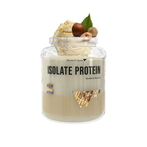 Proteína Isolate 2Kg | Vainilla & Hazelnuts | Aumentar masa muscular | Origen natural y vegano