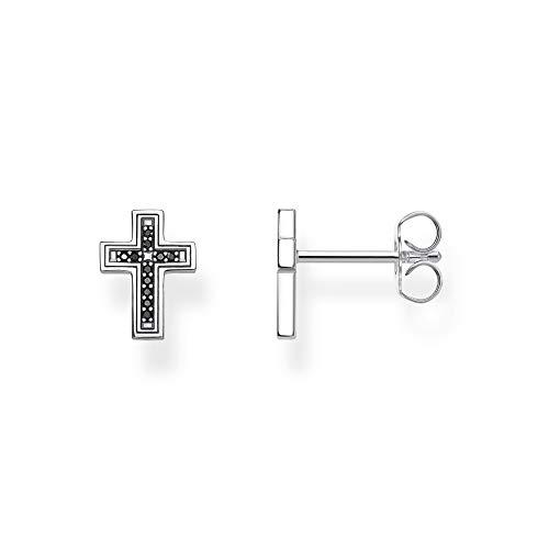 Thomas Sabo Pendientes de botón Unisex plata ley circonita - H2112-643-11