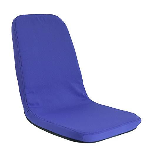 LJFYXZ Canapé Paresseux Chaise Canapé sans Jambes Pliable Facile à enlever et à Laver Salon Chambre Fauteuil Multicolore en Option (Couleur : Bleu)