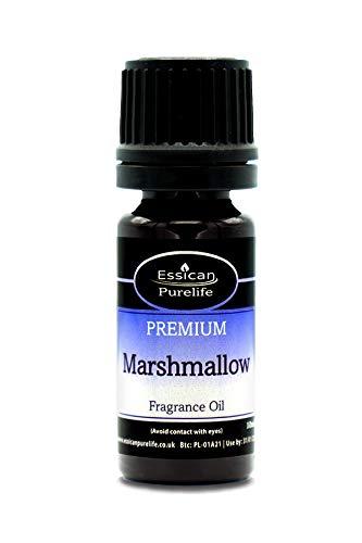 Marshmallow-Duftöl–Kosmetik-Qualität, Kerze, Seifen- und Badekugel-Duftöl, erhältlich in 10ml, 50ml, 100ml und 200ml Flaschen, 10ml