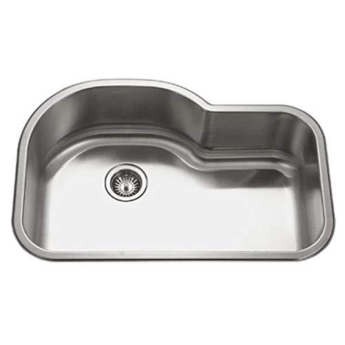Stainless Steel Offset Kitchen Sink