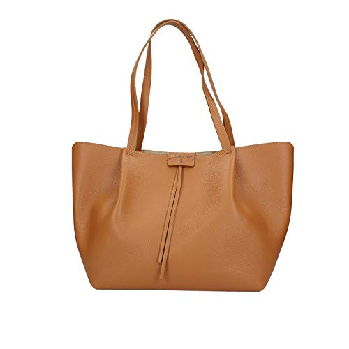 Patrizia Pepe Large Shopper Camel