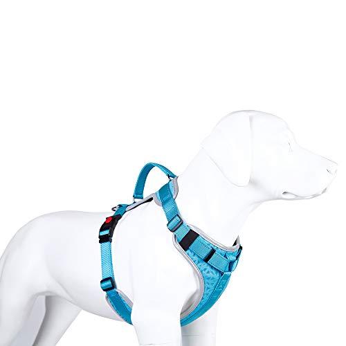 ZISITA verstelbare zachte ademende hond harnas kat controle nylon mesh vest harnas voor huisdier puppy zachte borst riem