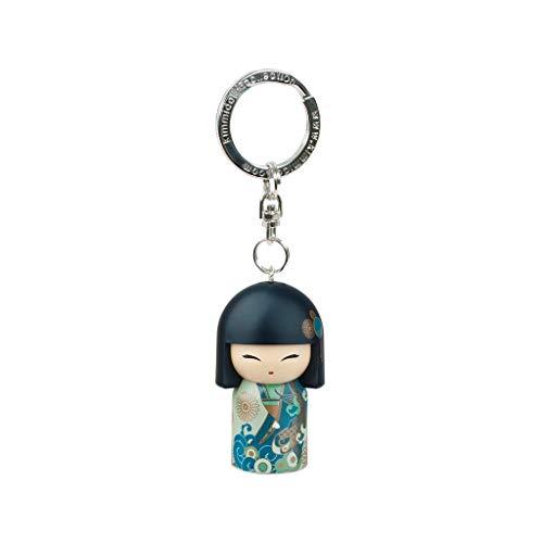 Kimmidoll Kokeshi - Llavero de 5 cm de nueva edición Yoshiko – Good Luck versión inglesa