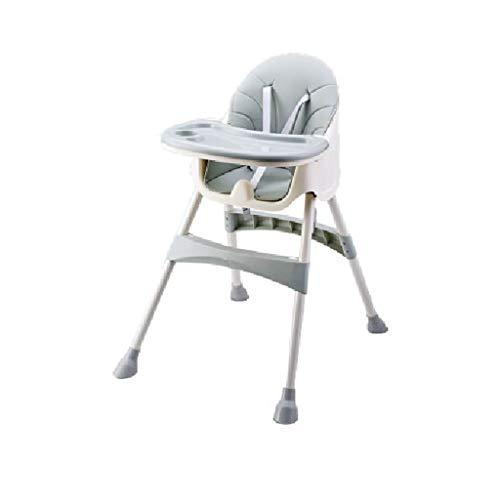 CML Infantil Silla de Comedor de bebé multifunción Mesa de Comedor y Trona portátil IKEA Plástico Silla de Comedor Cian Rosa Fácil de Usar (Color : Cyan)
