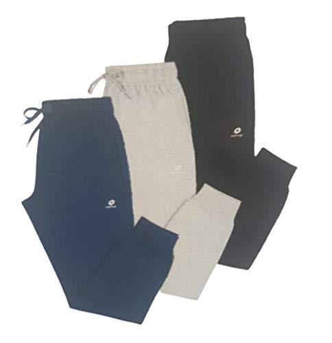 Pantalone Tuta Bambino e Ragazzo LA1502 e LA1302 - Lotto (Blu, 12 Anni)
