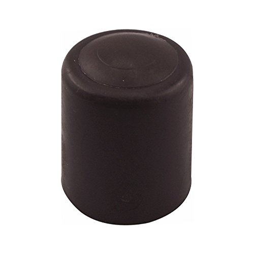SECOTEC Türpuffer , Türanschlag , Türstopper , ø 30 mm , Kunststoff braun , inkl. Befestigungsmaterial