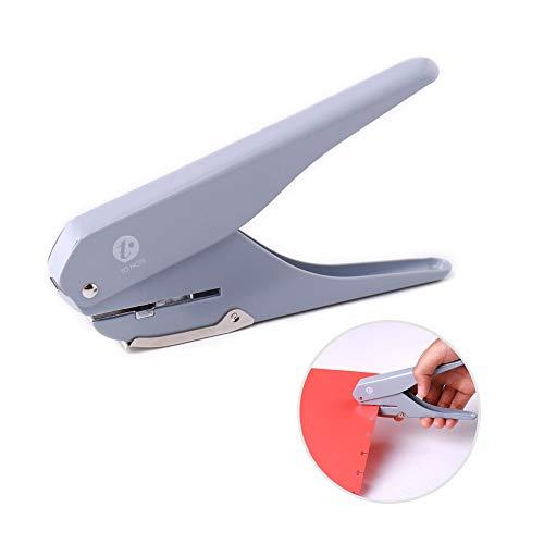 Aibecy KW-Trio Handheld DIY Pilz Single Hole Punch Puncher Papierschneider mit Lineal für Office Home Schüler