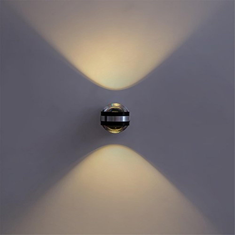 StiefelU LED Leiter der Bett- und LED-Rundschreiben Licht emittierende Dual head Korridore über die Schlafzimmer lampe Wandleuchte eingerichtet, 73 mm  100 mm.