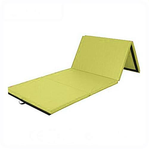 Yunmeng gymnastiekmat, opvouwbaar, fitnessmat voor training van het lichaam, 2,4 x 1,2 x 3 cm