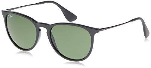 Ray-Ban Unisex Rb4171 54 Sonnenbrille, Schwarz (Gestell: Schwarz, Gläser: Polarized Grün Klassisch 601/2P), Large (Herstellergröße