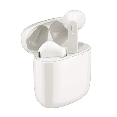 Bluetooth Kopfhörer In Ear,Kabellose Bluetooth 5.0 Kopfhörer In Ear TWS Wireless Kopfhörer 30-Stunden Spielzeit Wasserdicht Sport Kopfhörer Eingebautes Mikrofon mit Ladekoffer