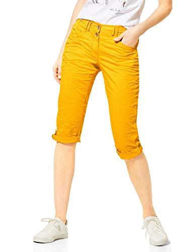 Cecil Damen 373013 New York 22inch Hose, Mango Yellow, W30/L22