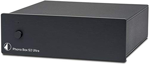 Great Deal! Pro-Ject Phono Box S2 Ultra Phono Preamplifier - Black