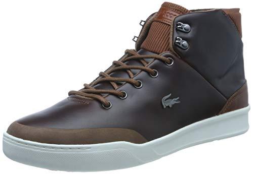 Lacoste Herren Explorateur Classic Sneaker, Braun (Brown Cam0025dt3), 44.5 EU