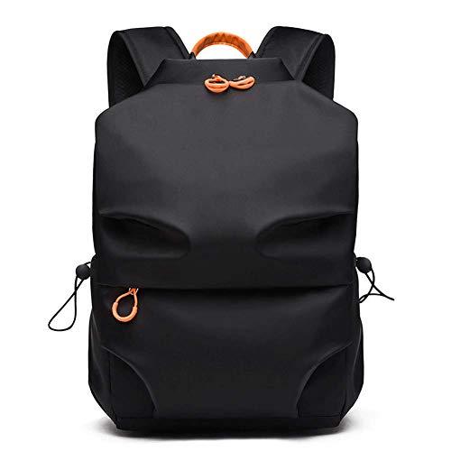 YHEB schoolrugzak laptop rugzak 15,6 inch oxford doek mode hertenrugzak student waterdicht diefstalbeveiliging (27 * 16 * 42,2 cm)