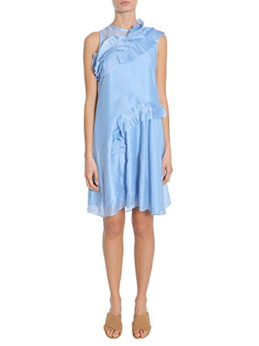 Carven Luxury Fashion Donna 3051R38504 Azzurro Poliestere Vestito | Stagione Outlet