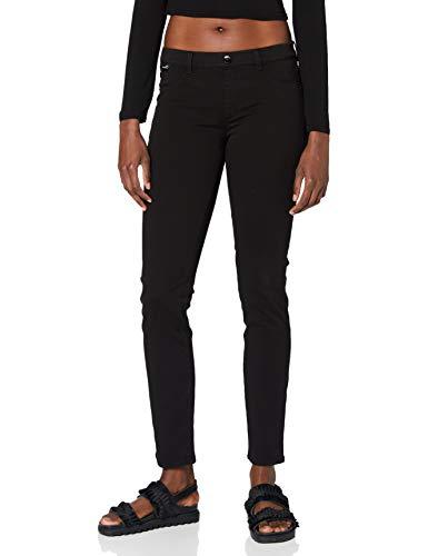 Love Moschino Hosen Pantaloni Casual, Black, 28 Donna