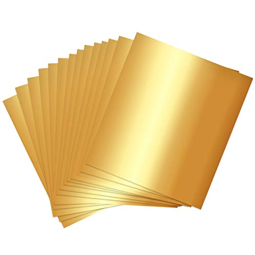Square Golden Aluminium Foil Candy Wrappers Sugar Wraps Paper for DIY Candies and Chocolate Packaging by Party Wedding Birthday Christmas Accessories,4 by 4-Inch, Gold, 300-Pack
