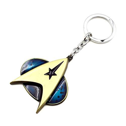 Schlüsselbund Schlüsselanhänger Neue Star Trek Keychain Schlüssel Ring Legierung Schlüssel Kette