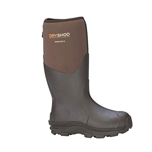DRYSHOD Men#039s Overland Premium Outdoor Sport Hi Boot Khaki/Timber 11