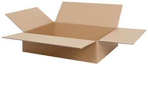 50 Faltkartons 400 x 300 x 100 mm | Versandkarton geeignet für Versand mit DPD, GLS und Hermes | zwischen 25-1000 Kartons wählbar