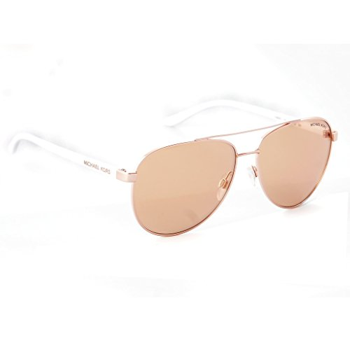 Michael Kors Hvar Sunglasses MK5007 Rose Gold/Rose Gold Flash 1080/R1 59mm