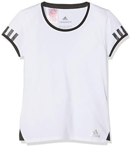 adidas G Club tee Camiseta de Tenis, Niñas, Blanco, 140 (9/10 años)