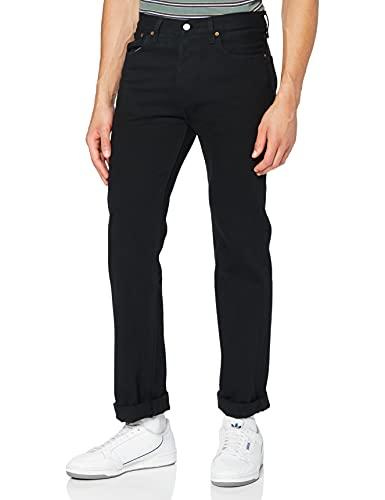 Levi's Men's 501 Original Fit Jeans, Black, 34W x 32L