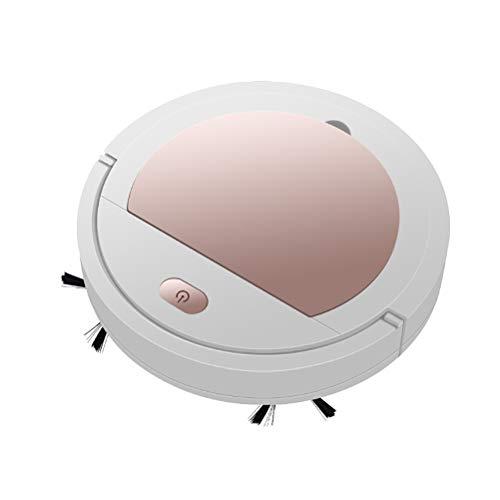 tairong Robot Aspirador, Aspirador Automático Robótico Inteligente, Aspirador Automático Robótico Inteligente Aspirador Inalámbrico 3 en 1 Máquina de Limpieza para el Hogar
